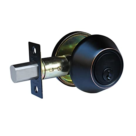 Constructor CON2921 Deadbolt Door Lock Set Double Cylinder, Oil Rubbed  Bronze