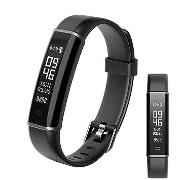 OOLIFENG Fitness Tracker Reloj Inteligente, Pulsómetros Con Pulsera ...