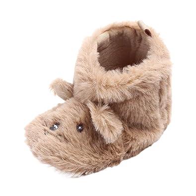 37914c56062ca Chaussures Bébé en Coton Souple - Chaussons Bébé de Noël - Chaussures  Premiers Pas - Chaussons