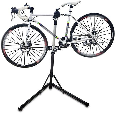 WOLJW Soporte de Reparación de Bicicletas,Mesa de Trabajo Plegable ...
