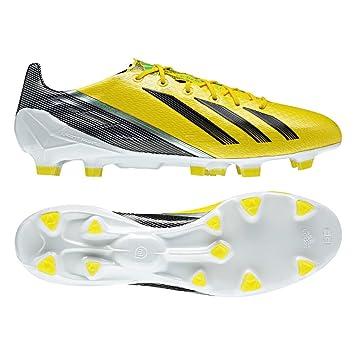 98061df6d4e Adidas Adizero F50 TRX FG SYN Yellow Men Shoes Football Sprint Frame  MiCoach