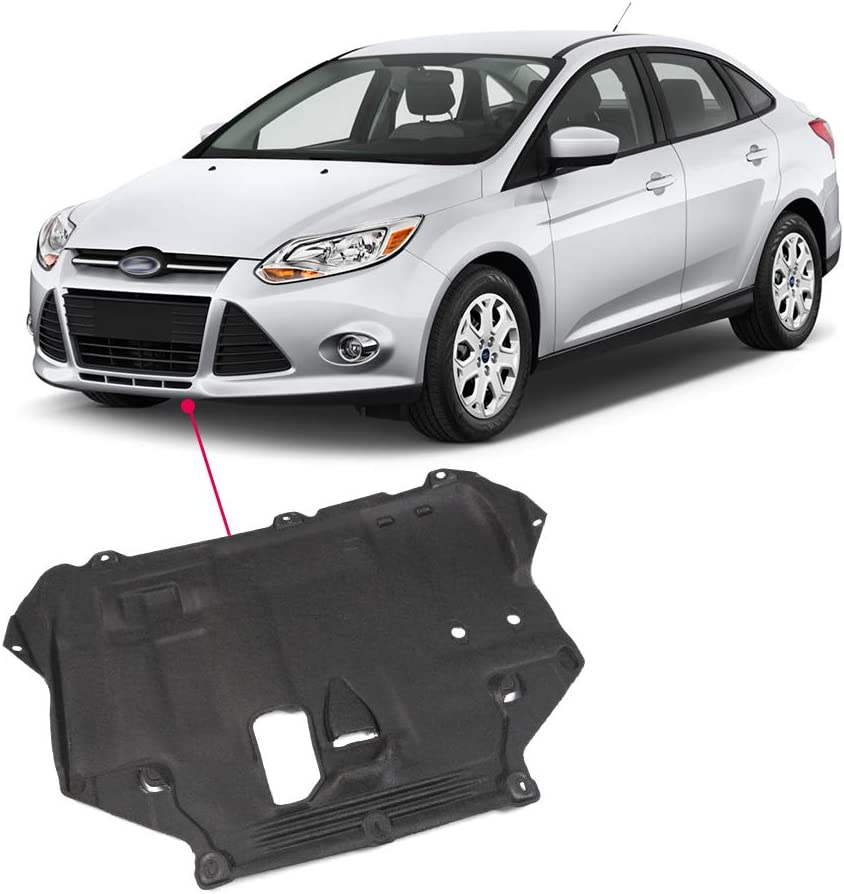 C-Max 2013-2018 Under Engine Radiator Cover Replaces CP9Z6P013A FO1228121 HaoTang New Engine Splash Shield Guard for Ford Focus 2012-2018