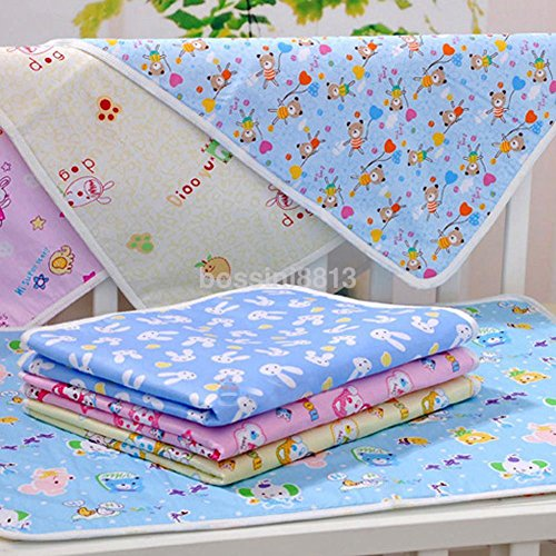 KANG--New Baby Infant Kids Diaper Nappy Urine Mat Kid Waterproof Changing Cover Pad US (3040cm)