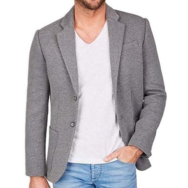 c77af8aa3ca7 Centered Sakko Herren modern und sportlich - als Casual Jacket oder Blazer  (Grau)