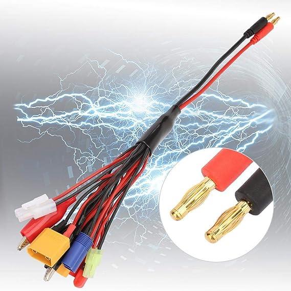 VGEBY1 Cable de Cable de extensi/ón 150 mm 60 Cores Cable de Cable de extensi/ón servo con 10 Piezas para Piezas de Juguete JR Plug Cable Paralelo