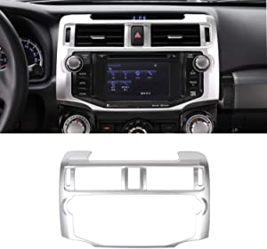 LZTQ for Toyota 4Runner 2010 2011 2012 2013 2014 2015 2016 2017 2018 2019 Center Console Navigation Trim Panel Dashboard Cover