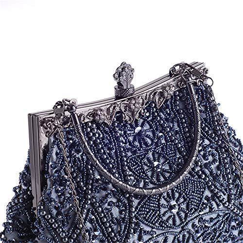Clutch Body Clutches Shoulder Women Gray Bags Beading Bags Color Bag Silver Special Purse Wristlet Occasion Handbags Evening Evening Cross xX6H5qH7
