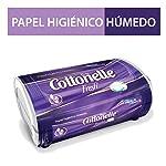 Kleenex Cottonelle Fresh Papel Higiénico Húmedo Tina, color Blanco, 42 hojas