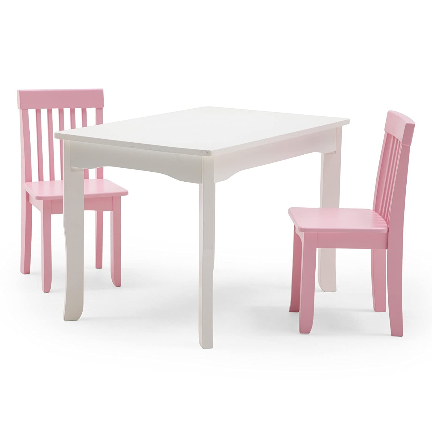 sc 1 st  Amazon.com & Amazon.com: Lipper Mystic Table and Chair Set - Pink: Kitchen u0026 Dining