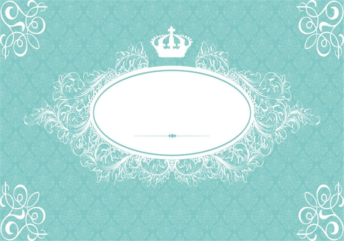 Amazon Com Csfoto 10x7ft Background For Crown With Blank Frame