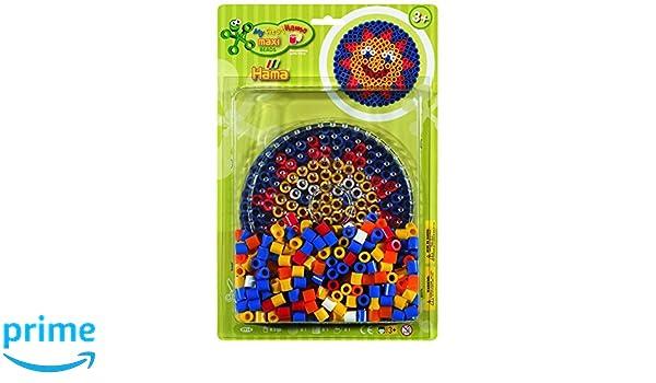 Hama 8914 - Juego de perlas para planchar (plástico), diseño de sol: Amazon.es: Juguetes y juegos