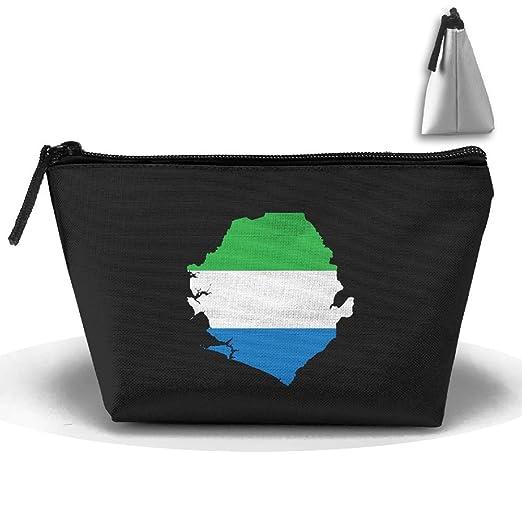 RobotDayUpUP Sierra Leona bandera de mapa para mujer bolsa ...