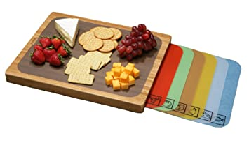 Amazoncom Seville Classics Easy To Clean Bamboo Cutting Board And