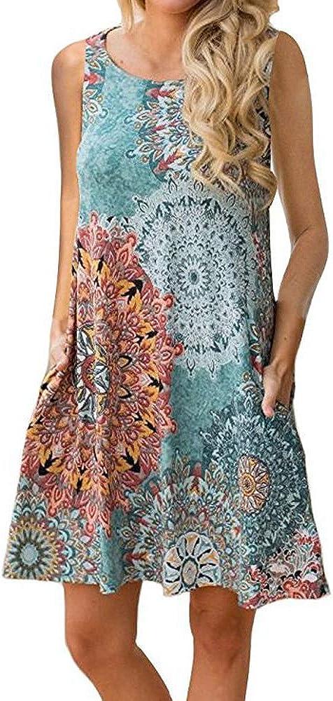 XU ANG Women's Casual Dress...