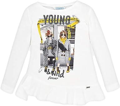 Mayoral Camiseta Manga Larga niñas niña Modelo 4015: Amazon.es: Ropa y accesorios