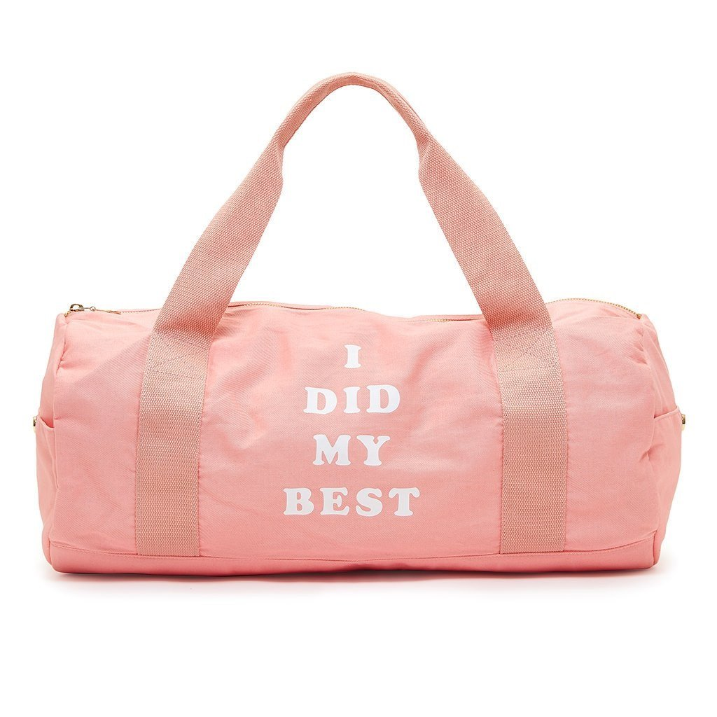 ban.do Work It Out I Did My Best Gym Bag