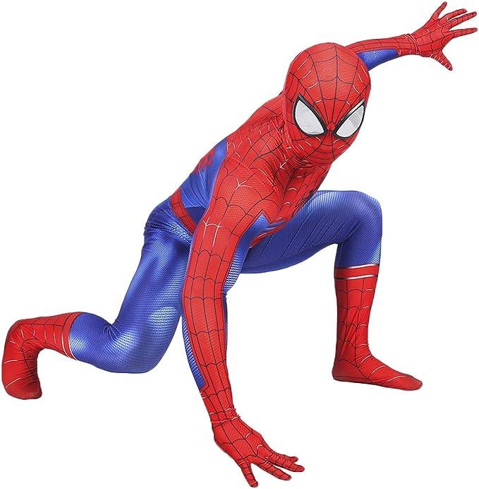 QWEASZER Traje de Spiderman, Peter Parker Traje clásico de hombre ...