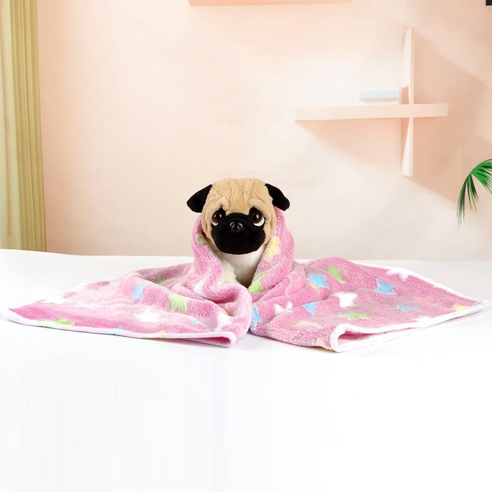 Ashui Pet Dog Cat Blanket Star Pattern Rest Breathable Mat Pet Cushion Soft Warm Winter Sleep Bed Sofa