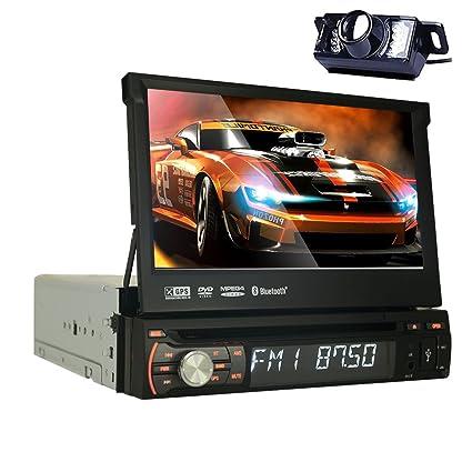 Radio de coche 1 DIN con navegador por satélite GPS