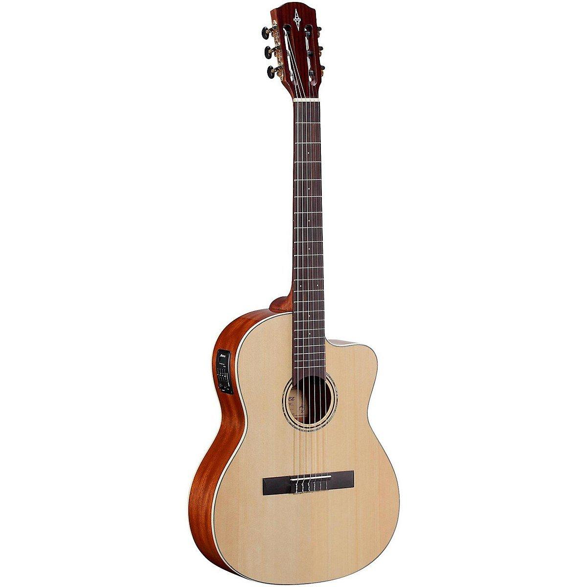 Alvarez - Guitarra acústica RC26HCE con funda incluida, color madera natural: Amazon.es: Instrumentos musicales