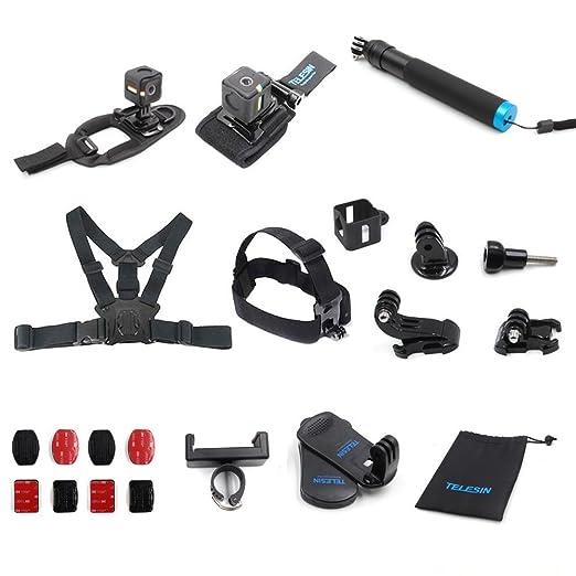 17 opinioni per TELESIN Kit accessori per il supporto per Polaroid Cube e Polaroid Cube