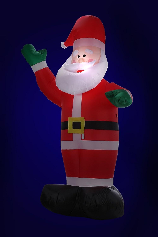 Homegear 8 ft Christmas Inflatable Santa Claus