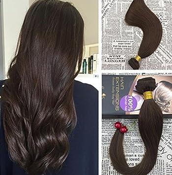 Echthaar extensions weave