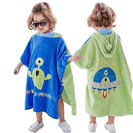 Toalla con Capucha para niños Toalla de baño con Capucha para niños, niñas y niños Toalla ...