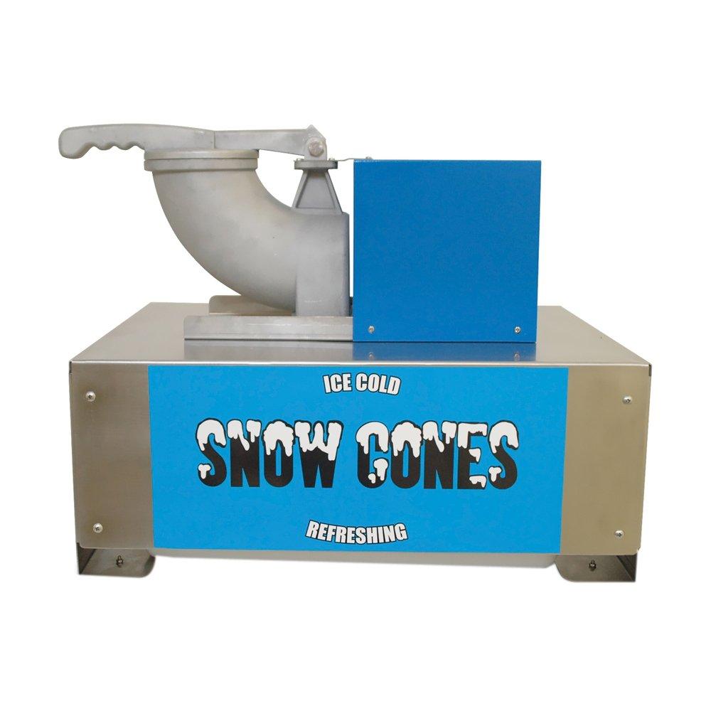 "Benchmark 71050 Snow Blitz Portable Snowcone Machine, 120V, 635W, 5.3A, 500 lbs/hr, 22-51/64"" Width x 18-1/2"" Height x 18"" Depth"