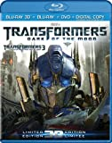 Transformers: Dark of the Moon (Limited 3D Edition) [Blu-ray 3D + Blu-ray + DVD + Digital Copy]