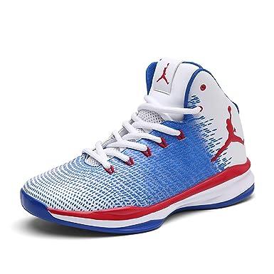 FHTD Zapatillas de baloncesto nuevas para hombre y para mujer Zapatillas deportivas de gran tamaño para uso: Amazon.es: Ropa y accesorios