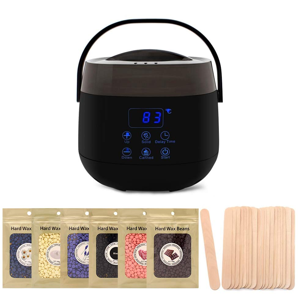 Amazon Com Wax Warmer Cleandell Painless Hair Removal Waxing