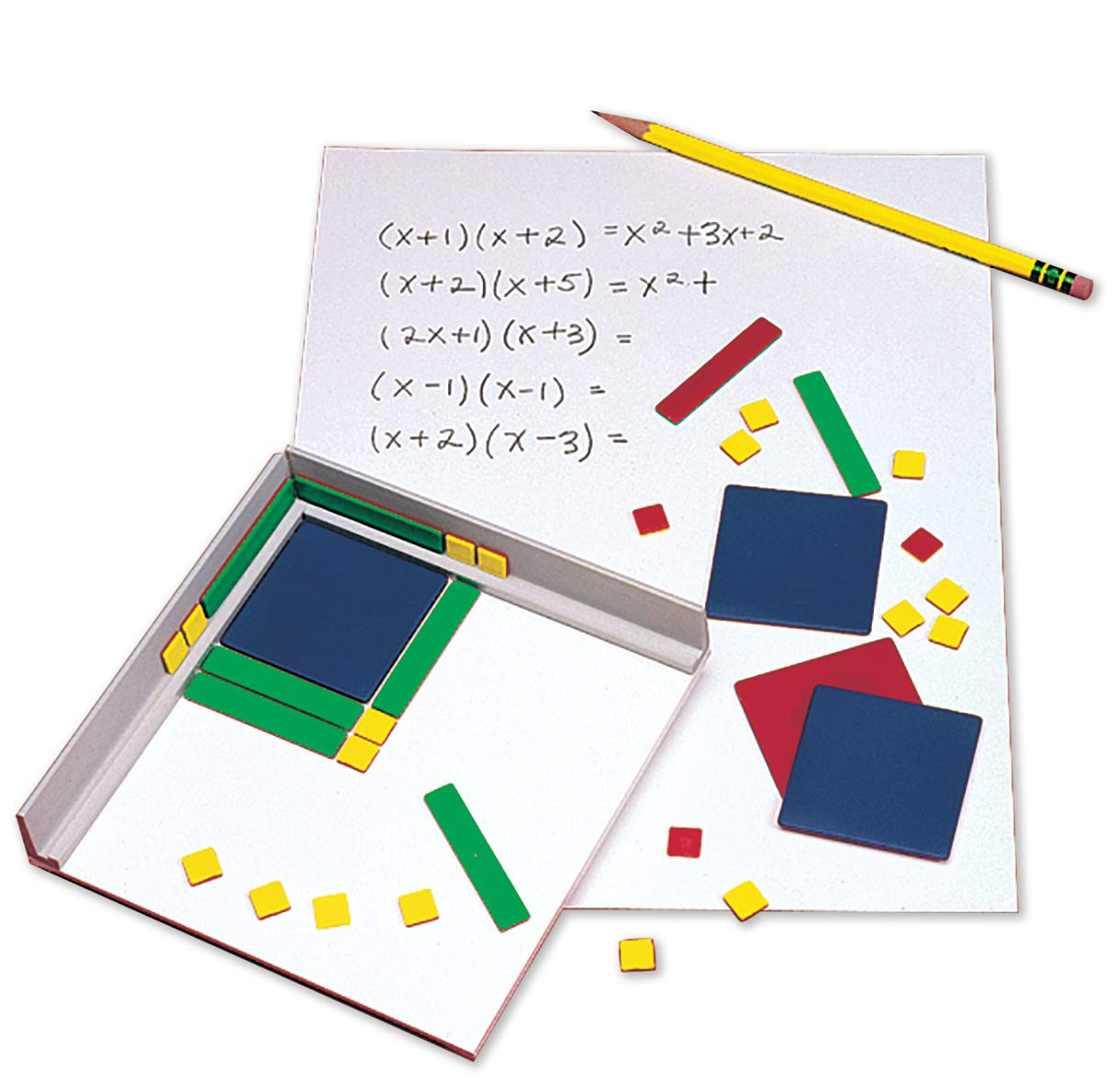 hand2mind Plastic Algebra Tiles Classroom Kit (30 Sets of 32 Pieces) by hand2mind (Image #6)