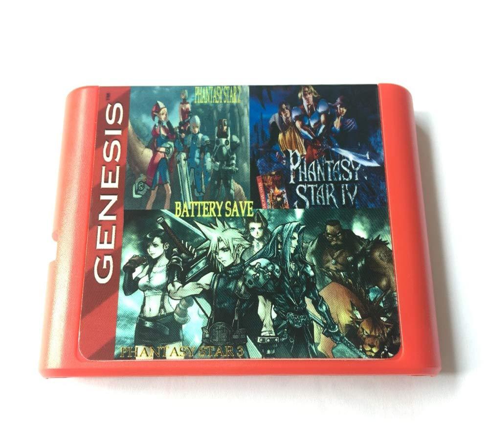 Amazon com: Phantasy Star 3 in 1 - Sega Genesis Collection