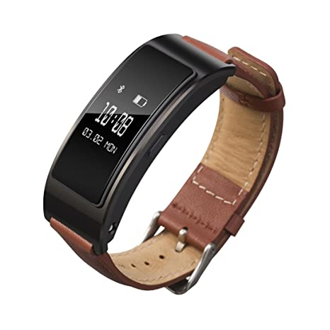 fc061463745fb Coohole Fashion Leather Band Accessory Band Bracelet Watchband For Huawei  Talkband B3
