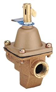 Pressure Regulator, 1/2 In, 10 to 25 psi