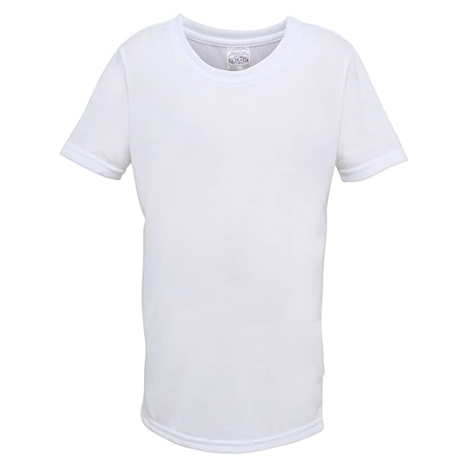 AWDis Just Sub - Camiseta básica Fashion para imprimación Sublimación Lisa Unisex Niños Niñas: Amazon.es: Ropa y accesorios