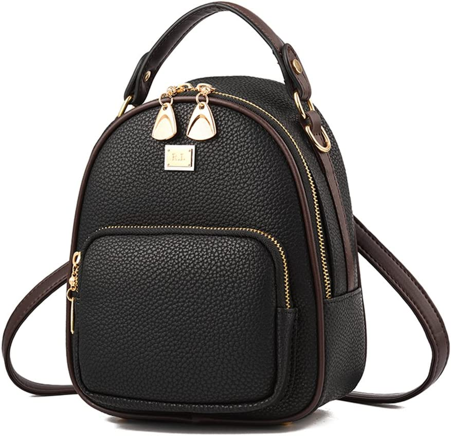 Mini Backpack COOFIT Womens Backpack Small PU Leather Backpack Ladies Shoulder Bag Casual Travel Daypack with Coin Purse
