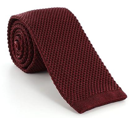 LABEL-CRAVATE - Corbata - para hombre Rojo lie-de-vin, bordeaux ...