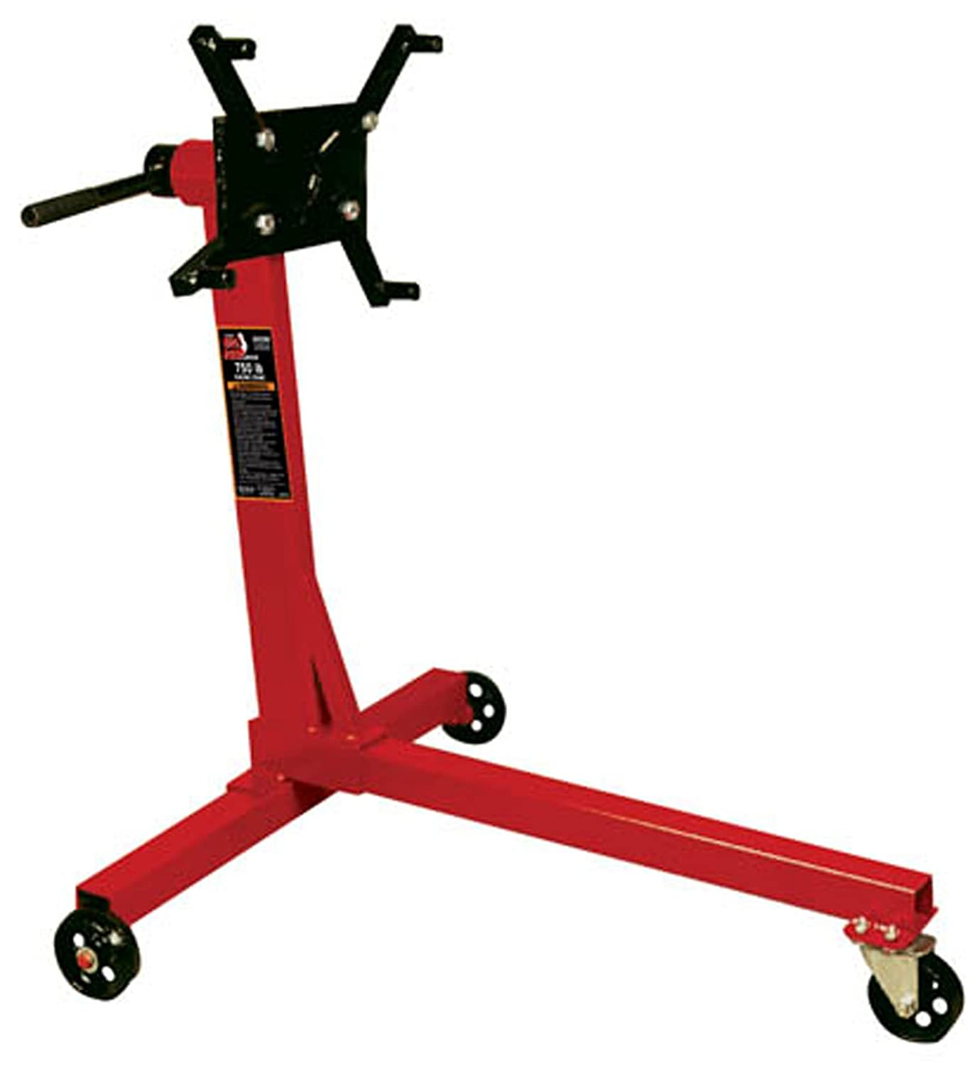 Torin Big Red Steel Rotating Engine Stand: 750 lb Capacity T23401