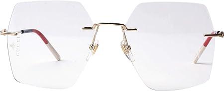 Gucci Gafas de Vista GG0683O GOLD BLUE 55/16/140 mujer