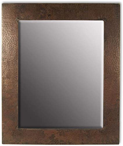 Native Trails Sedona Rectangular Wall Mirror, Large, Copper