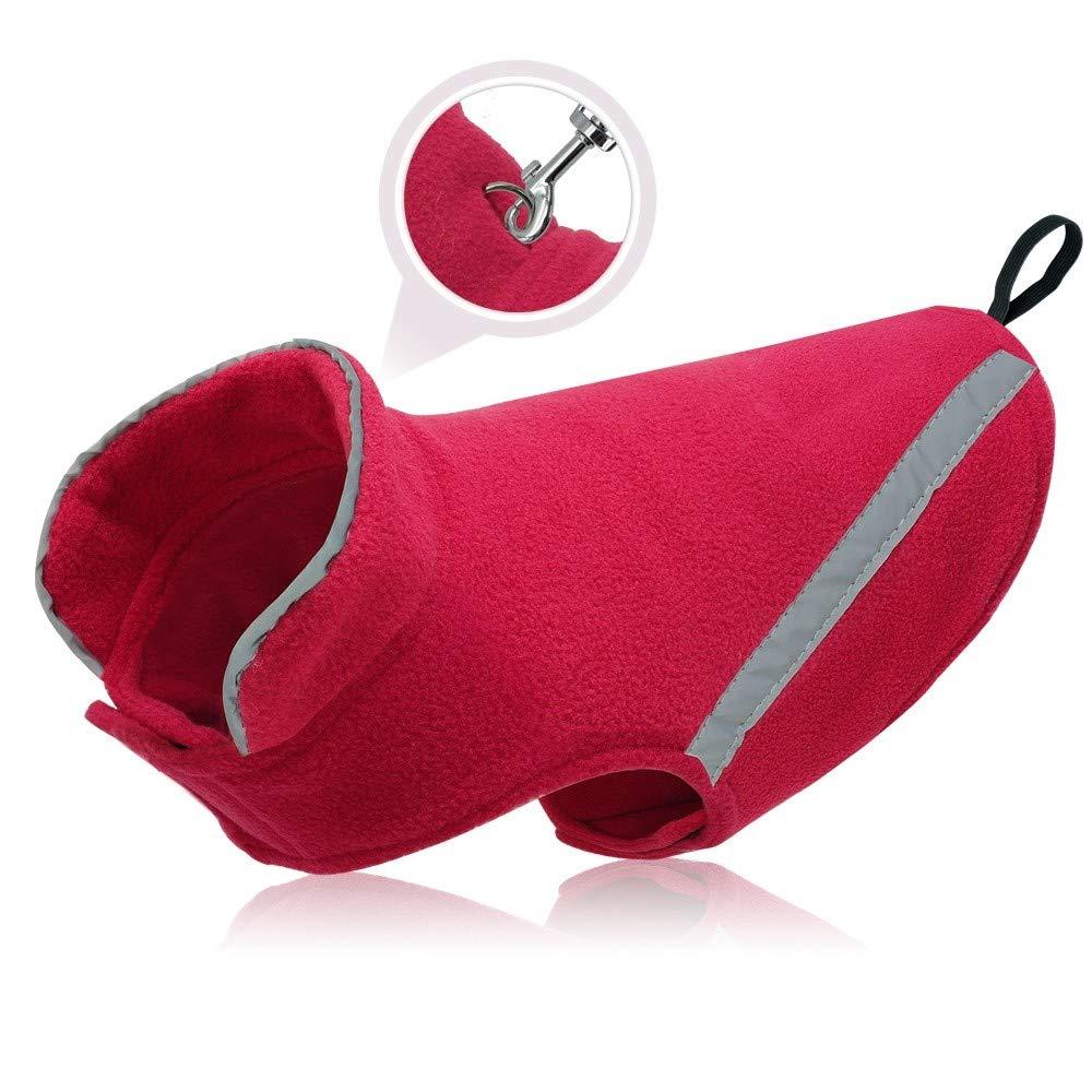 TYJY Abbigliamento Per Cani Da Compagnia Inverno Giacca Da Bulldog Francese Abbigliamento Cappotto Riflettente Per Cani Piccoli Cani Di Taglia Media Chihuahua Pug, M