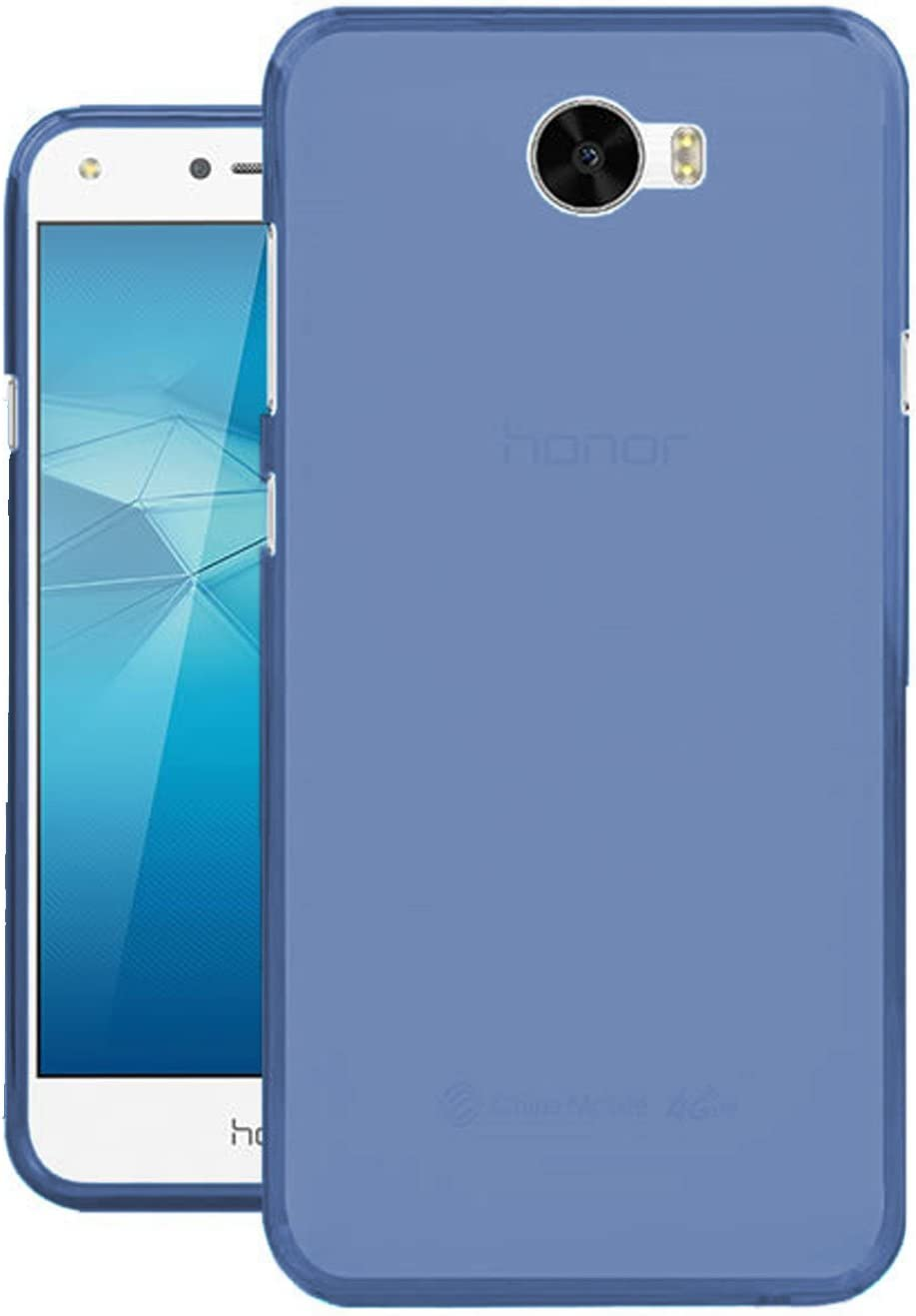 TBOC® Funda de Gel TPU Azul para Huawei Y5II - Y5 II: Amazon.es ...
