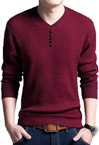 Jersey De Jersey De Punto De Moda Joven Camiseta Warm Grueso ...