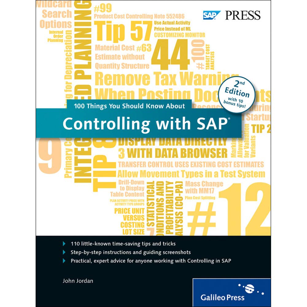 Controlling with SAP: 100 Things You Should Know About    - Livros