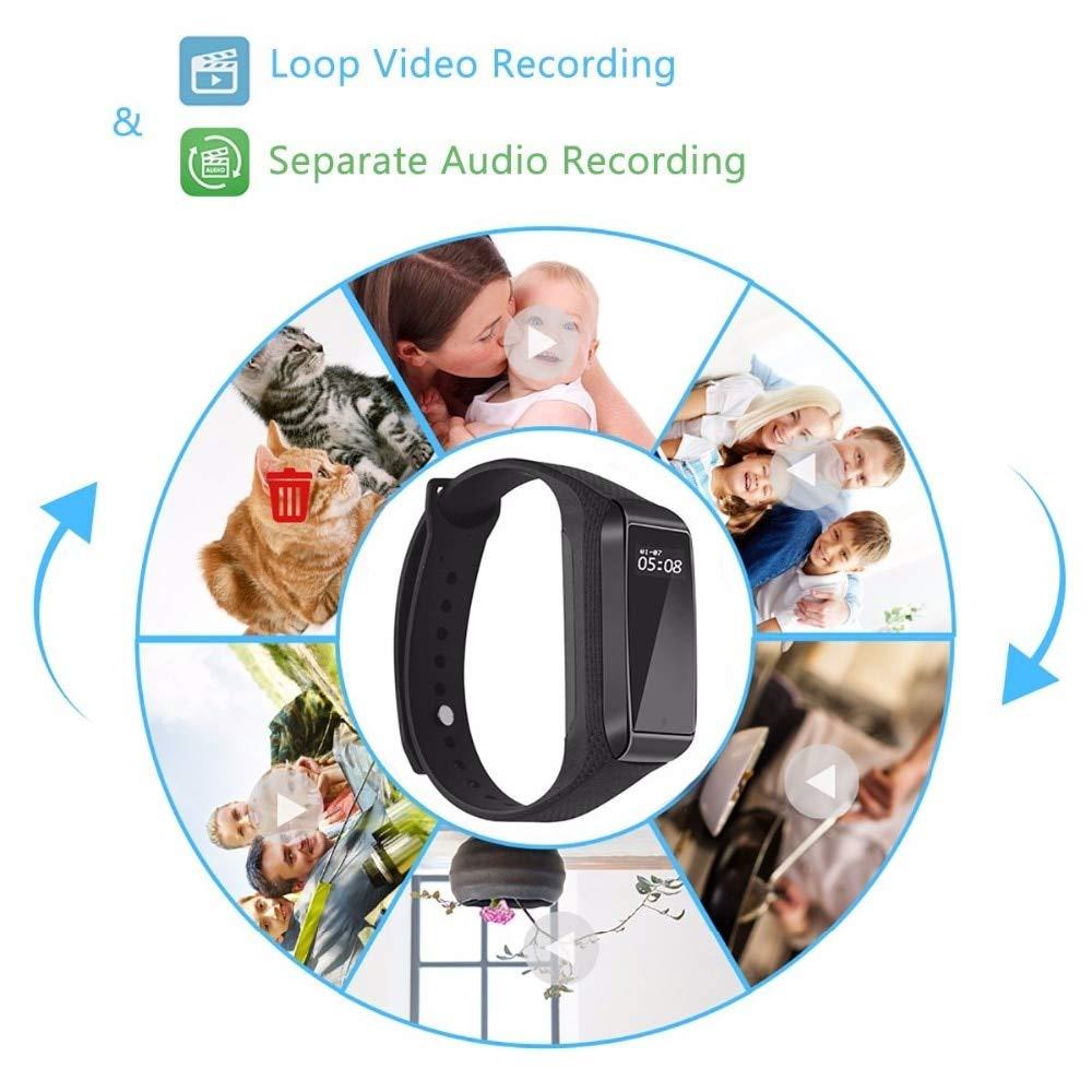 Amazon.com : Fitness Track Mini Camera Bracelet Function Outdoor Sport Using Digital Secret cam Micro Wearable Smart Watch espia voicerecord : Camera & ...