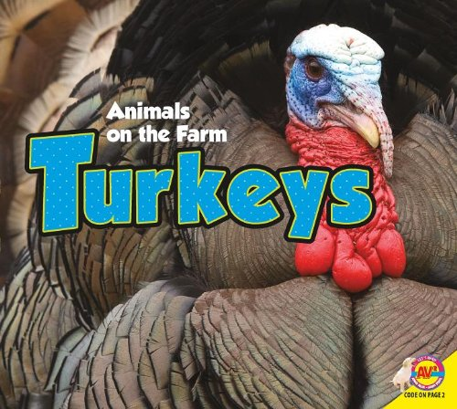 animals on the farm turkeys book for kids