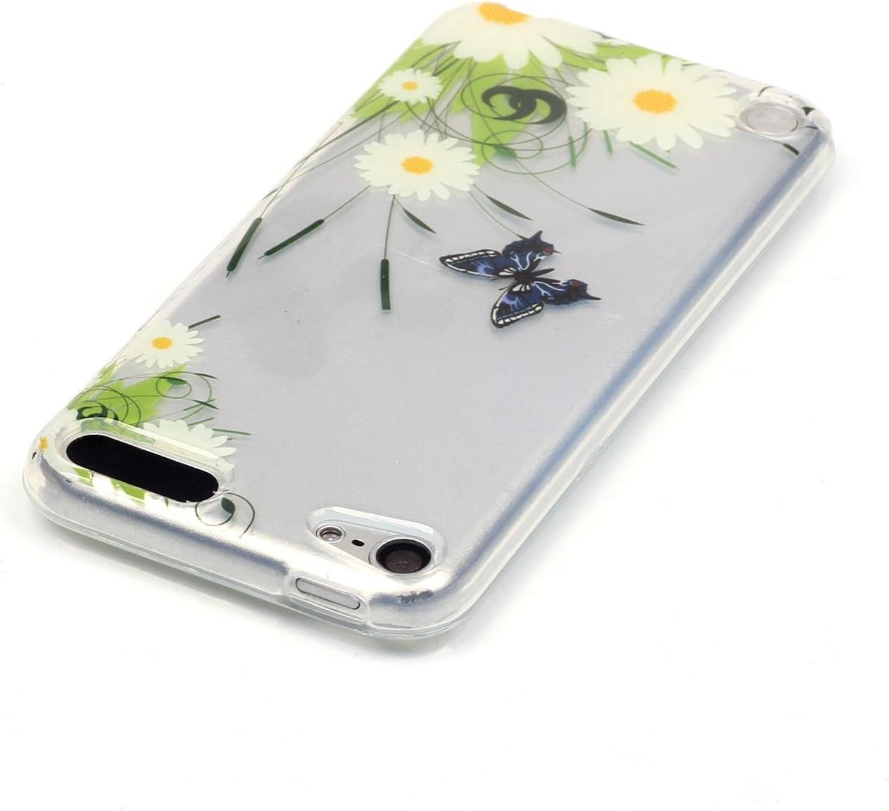 Aeeque iPod Touch 5G Slimcase Kratzfeste TPU Klar Transaprent Flexibel Weich Bumper Back Case Cover Tasche Sch/ön Muster Bunte Tier Eule Durchsichtig Silikonh/ülle f/ür iPod Touch 5G // 6G Generation