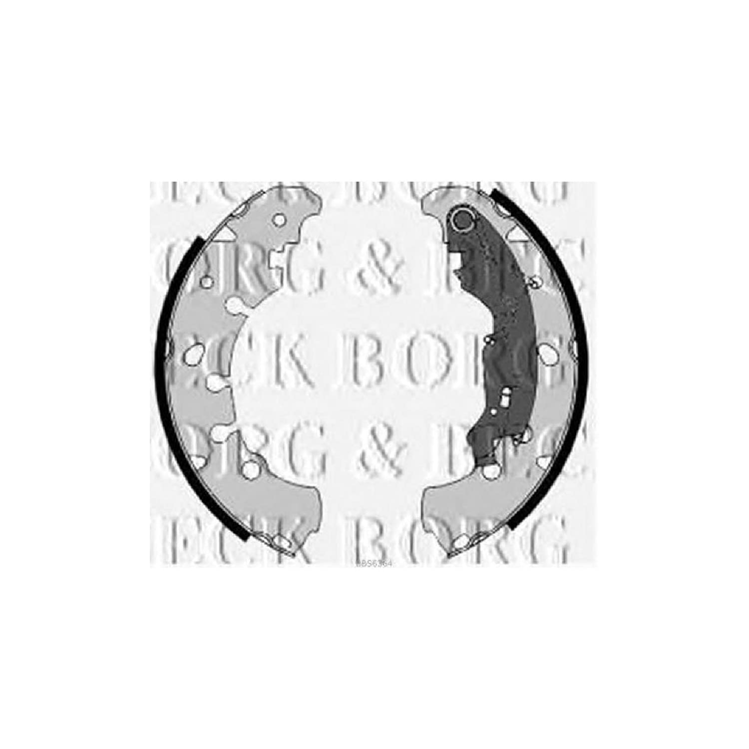 Borg & Beck BBS6364 Brake Shoes and Accessories